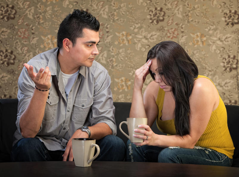Manage couple conflict